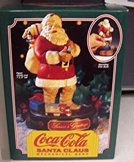 Ertl Coca-Cola Santa Claus Mechanical Bank Figure
