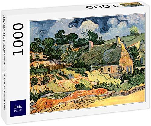 Lais Puzzle Vincent Willem Van Gogh - Gîtes à Cordeville (Maisons à Auvers) 1000 Pièces