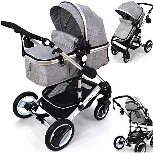 1 5x Kinderwagen Kinderwagen Einkaufstasche Baby Griff Clip Haken sp