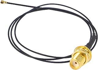 BOOBRIE RF同軸ケーブル SMAメス MHF4コネクタ0.81アダプタ 延長コード WIFIアンテナ 50CM