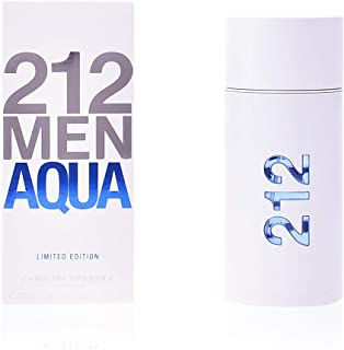 CAROLINA HERRERA 212 Men Aqua Limited Edition, 3.4 Ounce