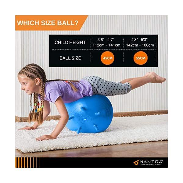 Gymnastikball Pilates Ball Sitzball Buero Fuer Zuhause Klassenzimmer 45cm 55cm Huepfball Fuer Kinder Balance Yoga Fitness Extra Dick Rutschfest Berstsicher Pezziball Pumpe Anleitung
