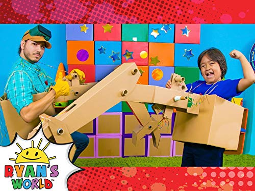 Ryan and Builder John Make a DIY Claw Machine!