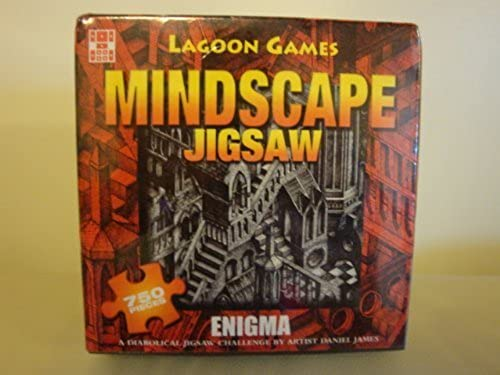 1 X Mindscape Jigsaw -  Enigma  by Lagoon Games