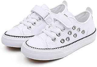 [WARRIOR] Children's Canvas Shoes キッズスニーカー 帆の布靴 運動靴 カジュアル スポーツシューズ マジックテープ 男女兼用 子供 ベビー 滑り止め ランニングシューズ