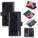 Snow Color Galaxy S20 Hülle, Premium Leder Tasche Flip Wallet Case [Standfunktion] [Kartenfächern]...