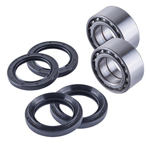 East Lake Axle Front wheel bearings & seals kit compatible with Honda TRX 400/450 1995 1996 1997 1998-2004