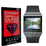 YISPIRIN Schutzfolie für Fitbit ionic, 5 Stück Folie Weich Bildschirmschutz, Anti-Kratzen, Ultra-HD, 3D Curved Volle Bedeckung Bildschirmschutzfolie für Fitbit ionic