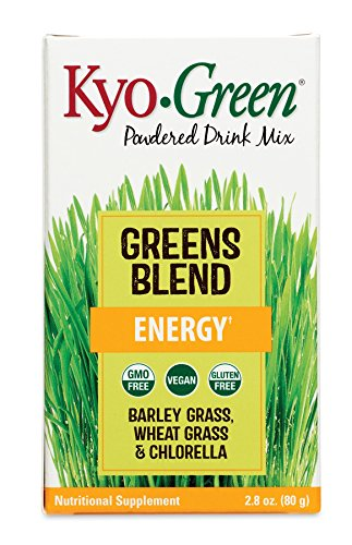 Kyo-Green Greens Blend Energy Powered Drink Mix, 2.8 oz