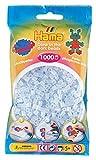 DAN Import 207-57 Hama - Cuentas de Color Azul Que Brillan en la Oscuridad