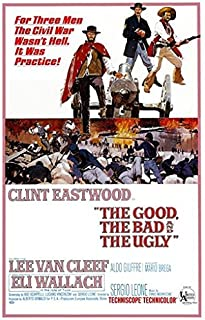 THE GOOD the BAD and the UGLY POSTER Vintage Movie Poster 2 - Clint Eastwood RARE HOT NEW 24x36
