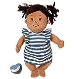 Manhattan Toy Baby Stella Beige mit braunen Haaren 38,1 cm Soft First Baby Doll