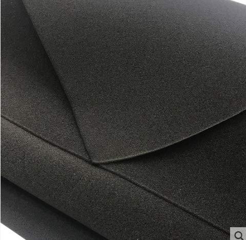 CYZW 30PPI Air Filter Foam Sheet-Black Anti-Dust 3mm Thickness {Size:2M Length x 1M Wide}