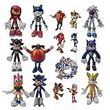 Figura de Sonic Super Sonic Hedgehog Series Super Sonic Mouse Mano Oficina Aberdeen Decoración Model...