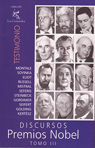 Discursos Premios Nobel: Tomo 3 (Spanish Edition)