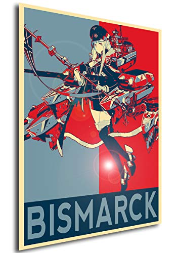 Instabuy Poster - Propaganda - Azur Lane - Bismarck Variant A3 42x30