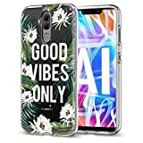 cover compatibile con huawei mate 20 lite, ultra sottile, antigraffio, in morbido silicone tpu, custodia slim fit, antiscivolo, trasparente, antiurto, morbida, antigraffio. 6 taglia unica