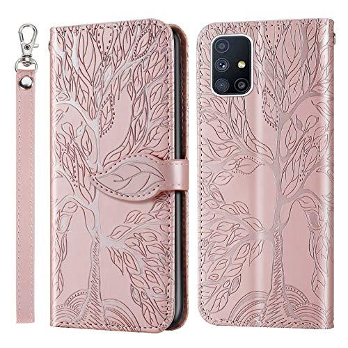 Jajacase Funda Folio Samsung Galaxy A71 Fundas - Carteras Carcasa Accesorios PU...