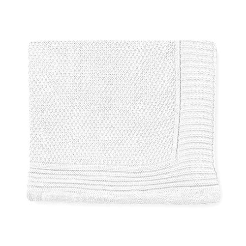 Pirulos 28012320 80 x 110 cm color azul Toquilla tricot texturas