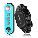BurgeonNest Shock Collars for Dogs with Remote, Waterproof Electric Dog Training Collar with 3 Safe Training Modes, Beep, Vibration, Shock Modes for Dogs (5-100 Lbs) (Blue)