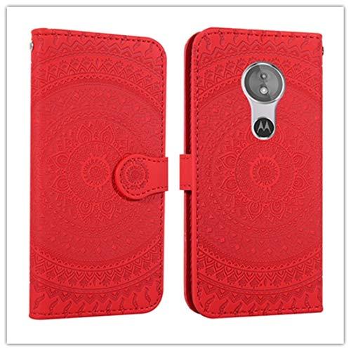 Los altavoces de la funda de smartphone For la funda de piel de Sony Xperia L2 prensada impresión de vibración del modelo horizontal con el soporte y ranura para tarjetas y cartera & cordón (gris)
