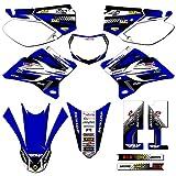 Team Racing Graphics kit compatible with Yamaha 2005-2020 TTR 230, ANALOG Complete Kit