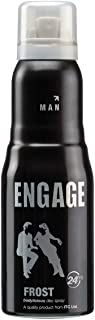Engage New Metal Range Frost Deodorant Spray For Men,165ml / 110ml