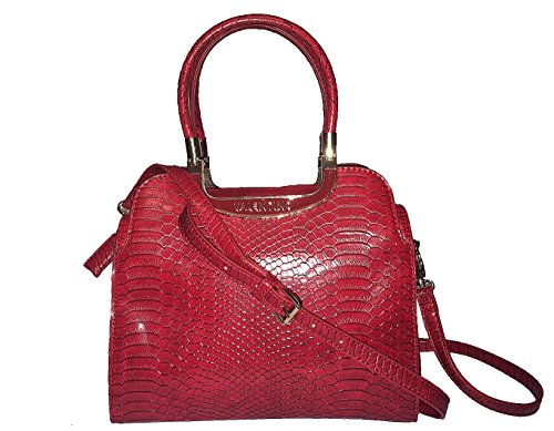 Valentino - Cartera de mano con asa para mujer Rojo rojo