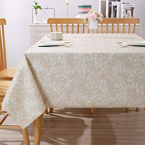 sans_marque Table cloth, table cloth cover, can wipe the edge of the table decoration, used for kitchen dining table140 yuan