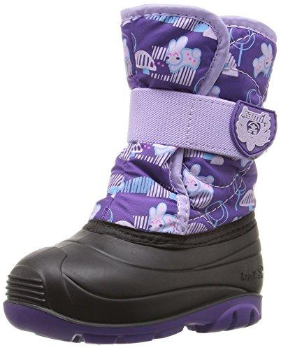 Kamik Kids' Snowbug4 Snow Boot, Purple, 10 M US Toddler
