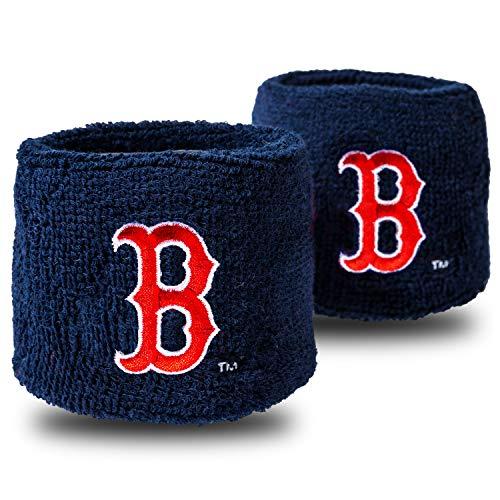 Franklin Sports MLB Wristbands, Team Specific, 2.5' x 2.5'