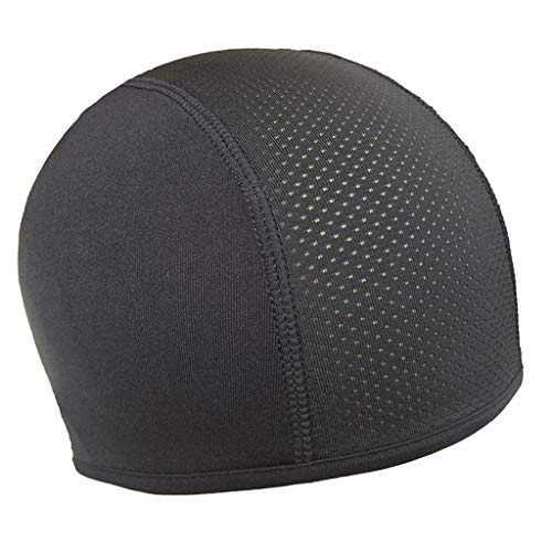 SunniMix Refrigeración Running sombreros cubrir orejas cráneo Cap ciclismo casco Liner Beanie...