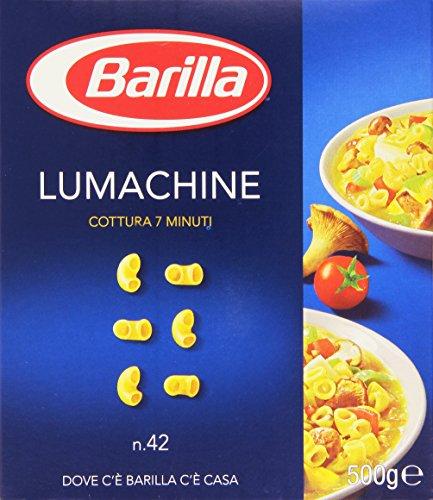 Barilla - Lumachine, Pasta di Semola di Grano Duro, n.42 - 500 g
