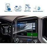 LFOTPP Fits for 2019 2020 2021 GMC Sierra 1500 8 Inch IntelliLink Car Navigation Screen Protector, Tempered Glass Center Touch Screen Protector Anti Scratch High Clarity