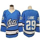 HZIH Langarm Eishockey Trikots Training Kleidung NHL Männer Sweatshirts atmungsaktiv T-Shirt Laine # 29,M