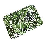 Vektenxi 40 x 60 cm, diseño de hojas de árbol, antideslizante,...