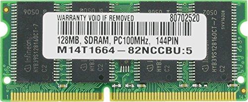128MB SDRAM PC100 3.3V CL2 Low Density 144 PIN SO DIMM Memory RAM 144 Pin Pc100 Sdram Sodimm