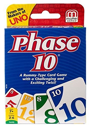 Mattel Uno Phase 10