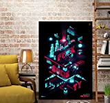 DAQIANSHIJIE Fernsehserie Mr. Robot Poster Wandkunst