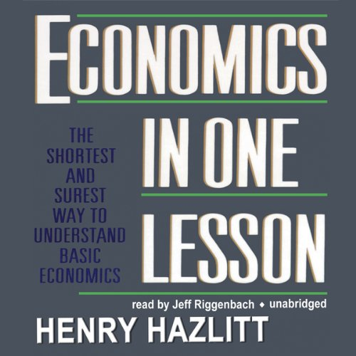 Economics in One Lesson audiobook cover art