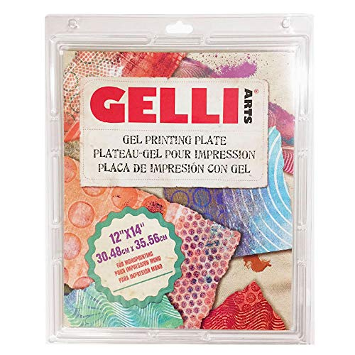 Gelli Arts Gel Printing Plate 12X14 Inches