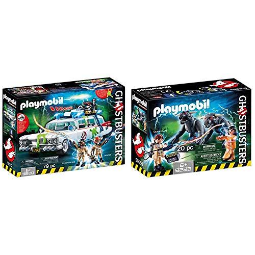 Playmobil 9220 Ghostbusters Ecto-1 & 9223 Venkman, Dana E I Cani Infernali