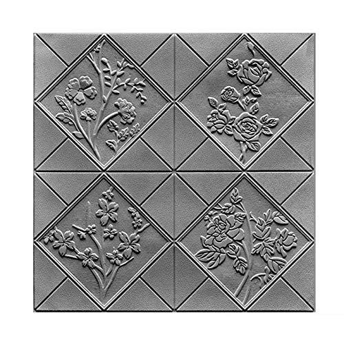 3D Wandpaneele Selbstklebend Steinoptik 7mm, 3d Ziegelstein-Tapete Brick Muster Tapete für Kinderzimmer Schlafzimmer Wohnzimmer Moderne tv Schlafzimmer Wohnzimmer Dekor(D20pcas)