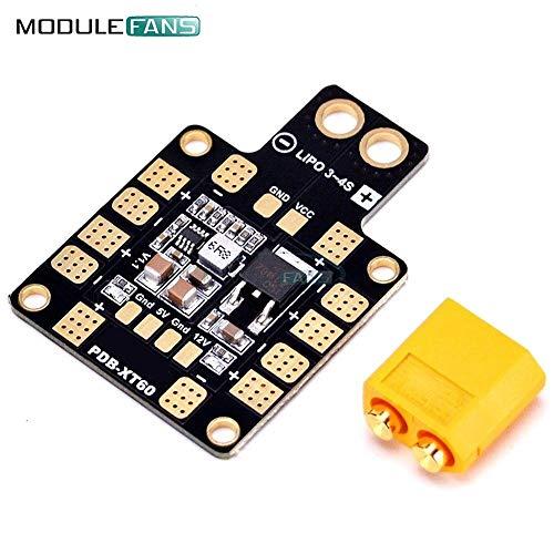 Mini Power Hub PDB XT60 Power Distribution Board PDB-XT60 Modul mit BEC 5V 12V für FPV Drone Quadcopter QAV210 QAV-R QAV-X