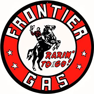 Victory Vintage Signs Frontier Gas Station Motor Oil Reproduction Sign