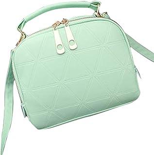 Wultia - Bags for Women 2019 Fashion Handbag Shoulder Bag Lady Tote Purse PU Leather Women Messenger Bolsa Feminina Green