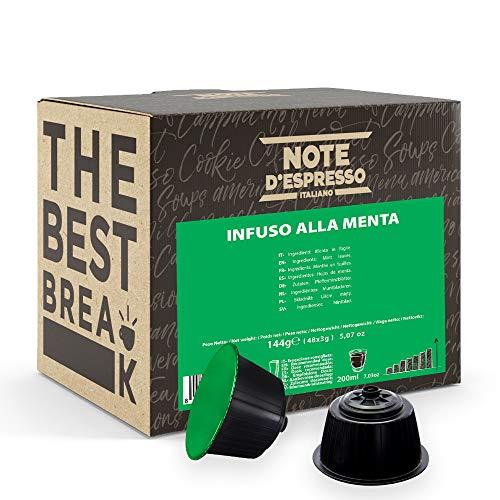 Note D'Espresso - Kapselmaschinen - ausschließlich kompatibel mit Nescafé* und Dolce Gusto*- Mint Infusion - 3g x 48