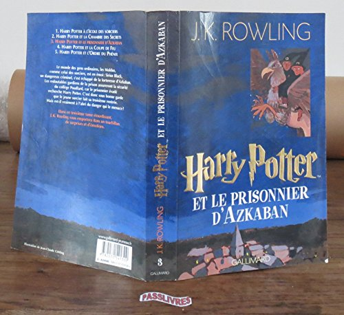 Harry Potter. tome 3 : Harry Potter et le Prisonnier d'Azkaban de Rowling. Joanne K. (2003) Broché