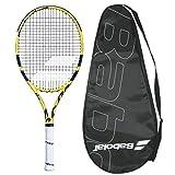 Babolat 2019 Aero 26 Junior Tennis Racquet - Strung with Cover
