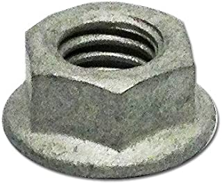 galvanized flange nuts